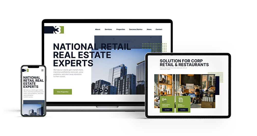 N3 Real Estate - Retail Real Estate Developers - inMotion Commercial Real Estate Marketing