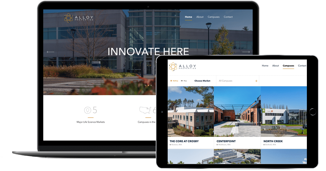 Alloy Properties TPG real estate partners new website